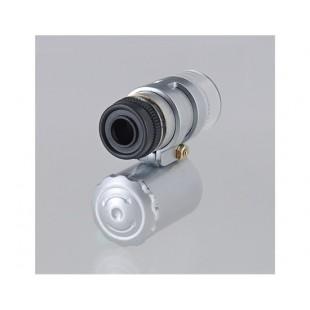 Лупа микроскоп с функцией детектроа валют 60х и ультрафиолетовой подсветкой