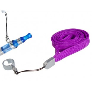 Шейный ремешок Ремешок с зажимом кольцо для электронных сигарет (фиолетовый)