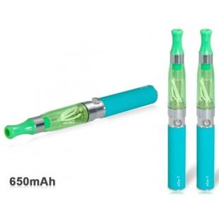 Двухместный стволовых двойной резистор 1,6 мл CE4 Форсунка Эго-T 650mAh аккумуляторная Электронная сигарета Kit (зеленый)