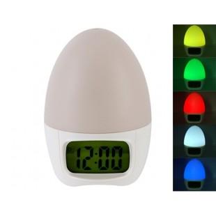 Многофункциональный Проекционные часы (белый)