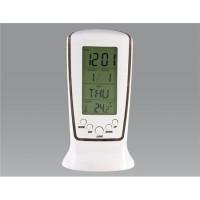 Купить Цифровой дисплей Будильник с календарем, температура (белый)