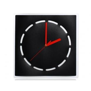 Концептуальные  настенные часы (черный)