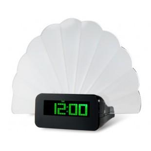 Многофункциональный Творческий Вентилятор Дизайн Зеленый Подсветка Форум Цифровые часы (зеленый)
