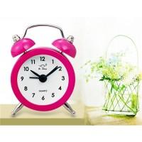 Купить 8801 Мини-Утюг Прозвенит Будильник (Розовый)