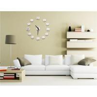 Творческий сделай сам украшения Художественный настенные часы (белый)