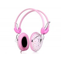 SOMIC ST-1607 Stereo Headphones (розовый)