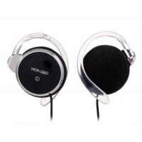 МЛУ-Q80 3,5 мм 90 дБ на-Ear проводные Наушники для MP3-плееров (черный)