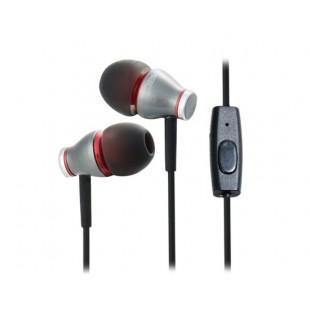 JBM MJ900 Bass наушники-вкладыши с микрофоном (серебро)