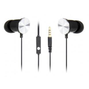 Kanen IP-609 Bass In-Ear стерео наушники с микрофоном, управления провода (черный)