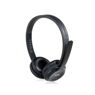 К rapoo H8030 на ухо 2.4 G Беспроводная стерео-гарнитура с микрофоном (черный)