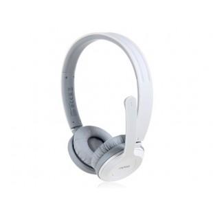 К rapoo H8030 на ухо 2.4 G Беспроводная стерео-гарнитура с микрофоном (Белый)