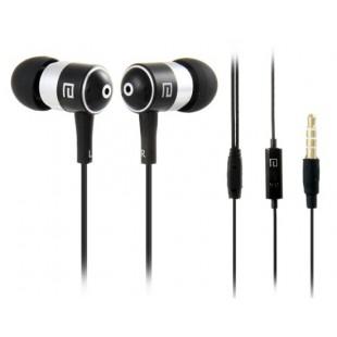 Langston разъем 3,5 мм наушники-вкладыши стерео наушники с микрофоном и 1,2 м кабель (черный)