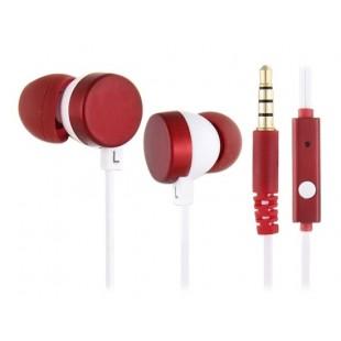 Kanen IP-608 In-Ear 20-20 кГц Динамический наушники с встроенным микрофоном (красный)