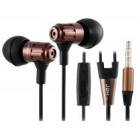 JBM MJ710 Bass наушники-вкладыши с микрофоном (Браун)