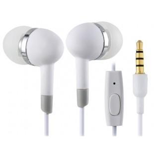 MEIZU EP-30 разъем 3,5 мм наушники-вкладыши Super Bass наушники с микрофоном (белый)