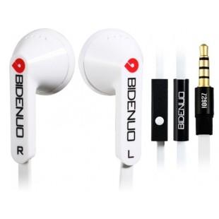 Регулятором Z290i 3,5 мм наушники-вкладыши наушники с микрофоном для iPhone 5, сделать ставку Сенсорный 5, сделать ставку 7 Nano, iPhone 4 и 4S &амп; iPad 4 (Белый)