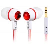Купить SONGQU SQ-05MP 3,5 мм разъем наушники-вкладыши Наушники для мобильный 5, Ipod Touch 5, Ipod Nano 7, iPhone 4 / 4S & Ipad 4 (красный)