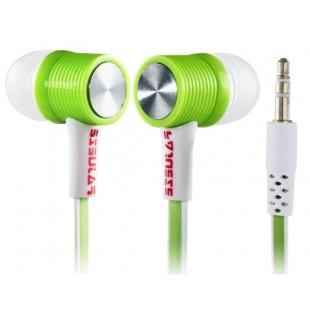 Genipu ВНП-ea03mp разъем 3,5 мм наушники-вкладыши Super Bass наушники (зеленый)