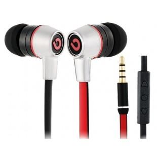 Регулятором в G380-Ear проводные Наушники для Samsung, компания Apple, HTC телефоны (Красный)