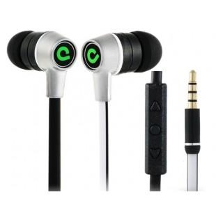 Регулятором в G380-Ear проводные Наушники для Samsung, компания Apple, HTC телефоны (Белый)