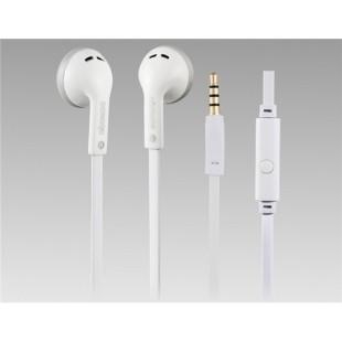 SONGQU SQ-1009 проводной наушник с микрофоном для Samsung, HTC, мобильный (белый)