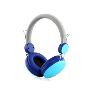 i30 3.5 мм разъем на наушники-вкладыши с микрофоном (синий)