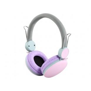 i30 3.5 мм разъем на наушники-вкладыши с микрофоном (розовый)