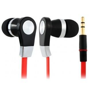 ЛК.Ccy 001 3,5 мм наушники-вкладыши Super Bass наушники с 1,35 м кабель (Красный)