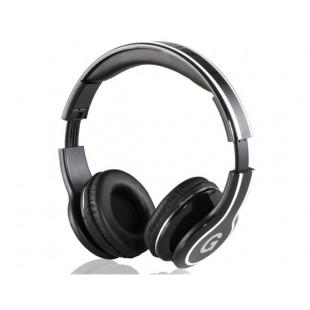 GENIPU ВНП-8805 3,5 мм на ухо складные наушники с микрофоном (черный)