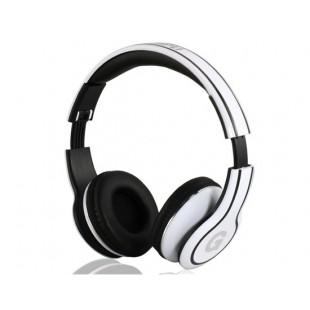 GENIPU ВНП-8805 3,5 мм на ухо Складные наушники с микрофоном (белый)
