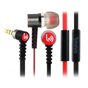 Биво БВ-EM240 3,5 мм наушники-вкладыши металла наушники с микрофоном и усилителем; 1,25 м кабель