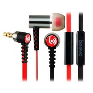 Биво БВ-EM210 3,5 мм наушники-вкладыши металла наушники с микрофоном и усилителем; 1,25 м кабель