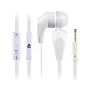 СМЗ 620 3,5 мм наушники-вкладыши Super Bass наушники с микрофоном и усилителем; регулятор громкости (Белый)