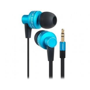 ES900M 3.5 мм стерео Ремикс дистанционного лапша разработанный в-ухо наушники с 1,2 м кабель (синий)