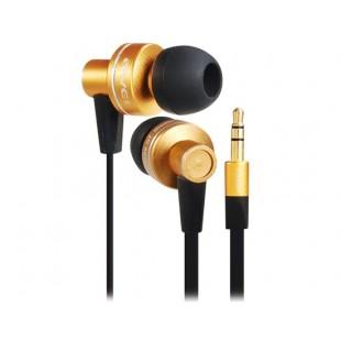 AWEI ES900M 3,5 мм ремикс дистанционного Лапша Разработанный наушники-вкладыши с 1,2 м кабель (Golden)