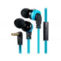 AWEI ES-13i разъем 3,5 мм In-ear стерео наушники/наушники с микрофоном, 1.2 м кабель (синий)