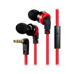 Awei ES-13i разъем 3,5 мм наушники-вкладыши стерео наушники / Наушники с микрофоном, 1,2 м кабель (красный)