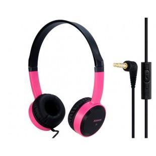 Keenion КДМ-400 3,5 мм на ухо стерео наушники с микрофоном &амп; 1,2 м кабель (Красный)