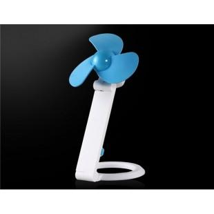 Складная мини USB-вентилятор (синий)