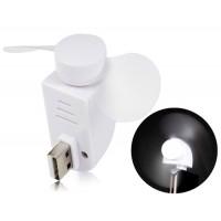 Купить HK-F2039 Mobile USB-вентилятор (белый)