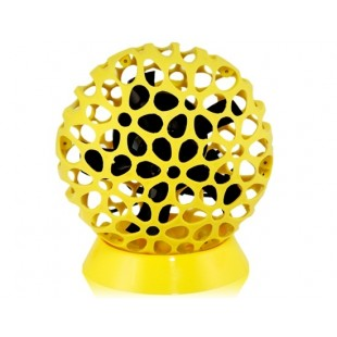 Сота дизайн портативный usb-Вентилятор (желтый)