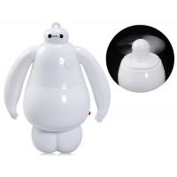 Купить 892 Мини Baymax Дизайн Вентилятор (Белый)