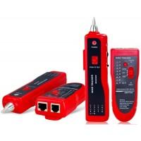 Тон & Probe Kit Многофункциональный провод Tracker Network Cable Tester (Красный)