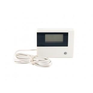 Цифровой термометр температуры Патрулирование (белый)