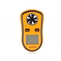 Мини скорость ветра / температуры цифровой анемометр
