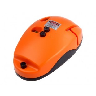 90 градусов Инфракрасная Лазерный уровень мышь (оранжевый)