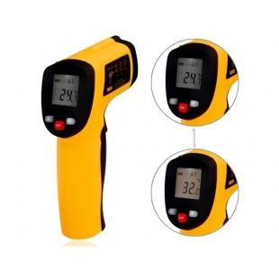 GM550 Инфракрасный ручной термометр (-50-550 ℃) (оранжевый)