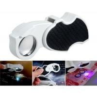TR01 45x LED-UV подвижной рукоятки Лупа