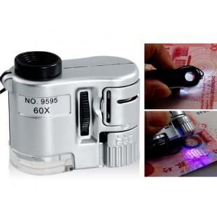 60x увеличение светодиодных УФ Микроскоп Sz S