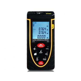 RZ70 70 м Ручной лазерный измеритель расстояния (черный)